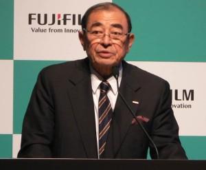 富士フイルム古森会長、「再生医療で世界一の企業に」